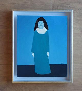 Katarzyna Castellini : Doll-nun : Oil on Canvas