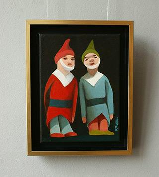 Katarzyna Castellini : Dwarfs : Oil on Canvas