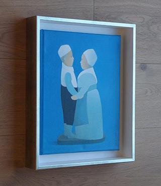 Katarzyna Castellini : Grandma and Grandpa : Oil on Canvas