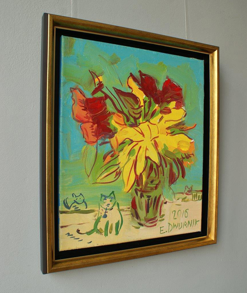 Edward Dwurnik : Sunday bouquet