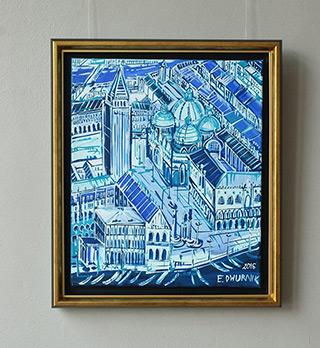 Edward Dwurnik : Venice : Oil on Canvas