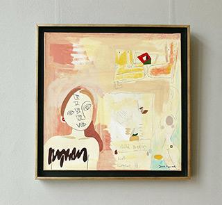 Jacek Cyganek : Child prodigy : Tempera on canvas