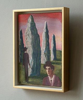Katarzyna Karpowicz : Strange afternoon : Oil on Canvas