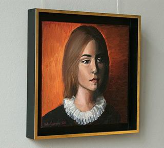 Katarzyna Karpowicz : Young lady : Oil on Canvas