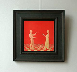 Mikołaj Kasprzyk : Trio of cat : Oil on Canvas