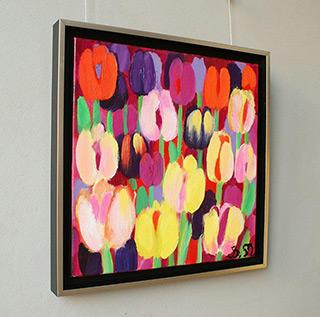 Beata Murawska : Crazy bouquet : Oil on Canvas