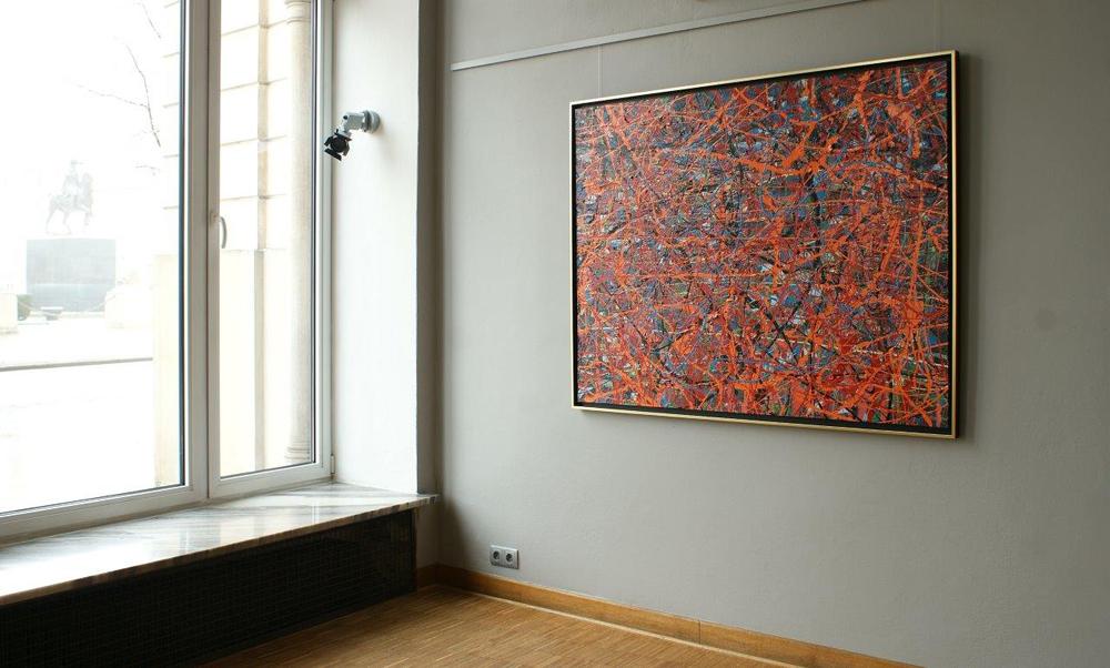 Edward Dwurnik : Abstract painting No 19