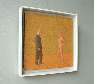 Mikołaj Kasprzyk : Suit & Nude : Oil on Canvas