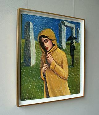 Katarzyna Karpowicz : English weather : Oil on Canvas