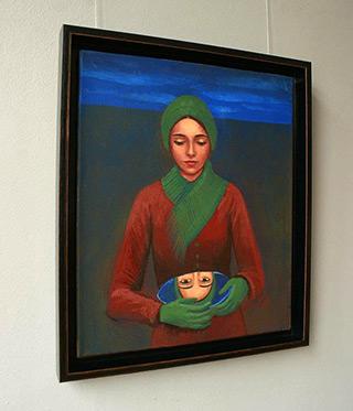 Katarzyna Karpowicz : Look : Oil on Canvas