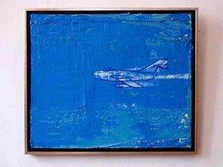 Jacek Łydżba : Mig : Oil on Canvas