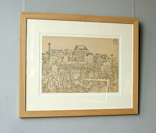 Edward Dwurnik : Mud Pies 1968 : Pencil on paper