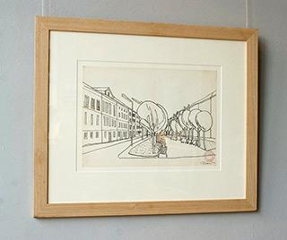 Edward Dwurnik : Planty 1970 : Pencil on paper