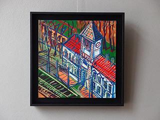 Edward Dwurnik : Otwock : Oil on Canvas