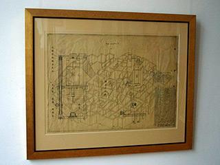 Jolanta Wagner : Drawing : Ink & wax on paper