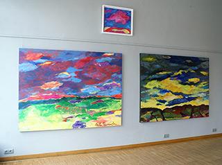 Beata Murawska : As far as the horizon : Oil on Canvas