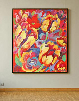 Beata Murawska : Bouquet : Oil on Canvas