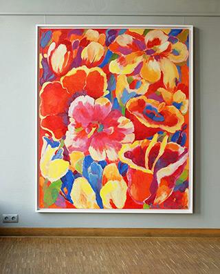 Beata Murawska : Delight : Oil on Canvas