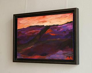 Beata Murawska : Dusk : Oil on Canvas