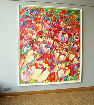 Beata Murawska : Field : Oil on Canvas