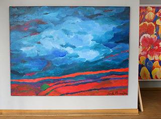 Beata Murawska : Heat : Oil on Canvas
