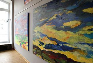 Beata Murawska : Nightfall : Oil on Canvas