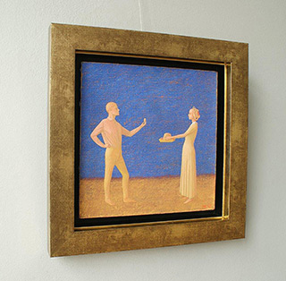 Mikołaj Kasprzyk : Easter : Oil on Canvas