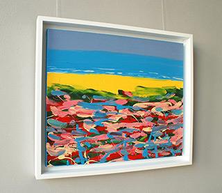 Edward Dwurnik : Landscape : Oil on Canvas