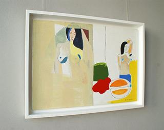 Jacek Cyganek : Turn your face towards the sun : Oil on Canvas