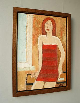 Krzysztof Kokoryn - Girl by the window