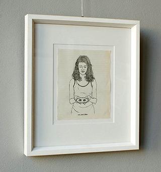 Magdalena Sawicka : Untitled Number 30 : Ink on paper
