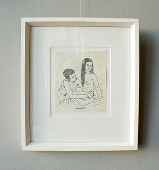 Magdalena Sawicka : Untitled Number 31 : Ink on paper