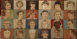 Bogna Gniazdowska : Ladies : Oil on Canvas