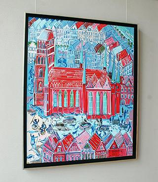 Edward Dwurnik : Gdańsk : Oil on Canvas