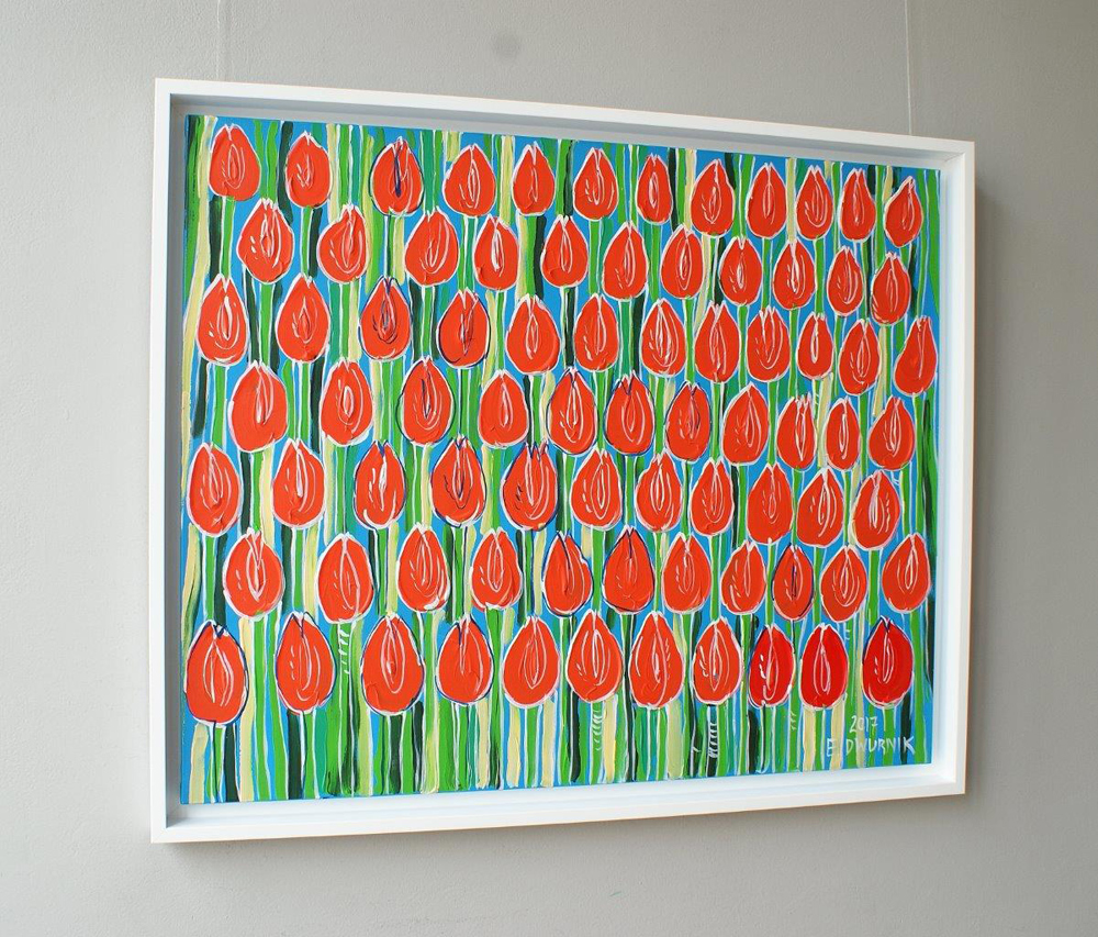 Edward Dwurnik : Tulips