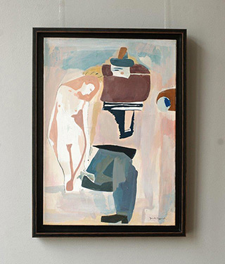 Jacek Cyganek : I have some experience in that matter : Tempera on canvas
