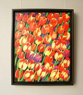 Beata Murawska : Juicy mix : Oil on Canvas