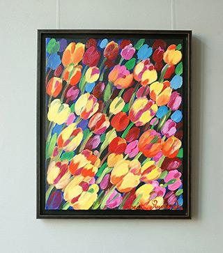 Beata Murawska : Organic depth : Oil on Canvas