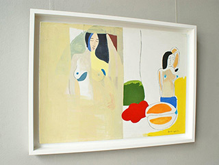 Jacek Cyganek : Holiday memories : Tempera on canvas