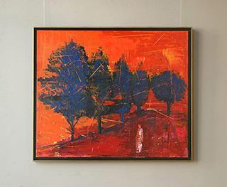 Jacek Łydżba : Landscape No 4 : Oil on Canvas