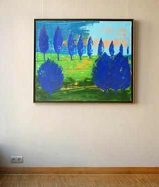 Jacek Łydżba : Landscape No 5 : Oil on Canvas
