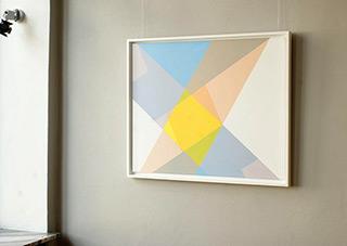Joanna Stańko : Delicate tension : Oil on Canvas
