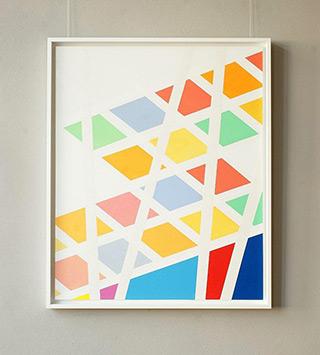 Joanna Stańko : Pastel fun : Oil on Canvas