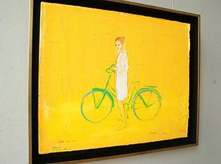 Jacek Łydżba : Sara : Oil on Canvas