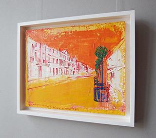 Jacek Łydżba : Summer in city : Oil on Canvas