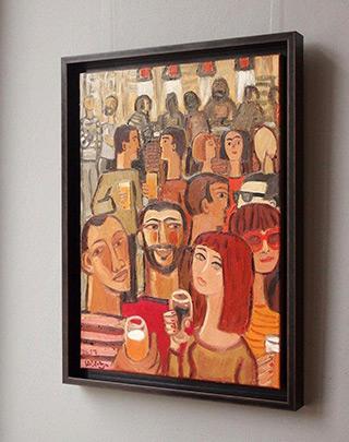 Krzysztof Kokoryn : Green eyes : Oil on Canvas