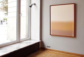 Anna Podlewska : Comfort shades : Oil on Canvas