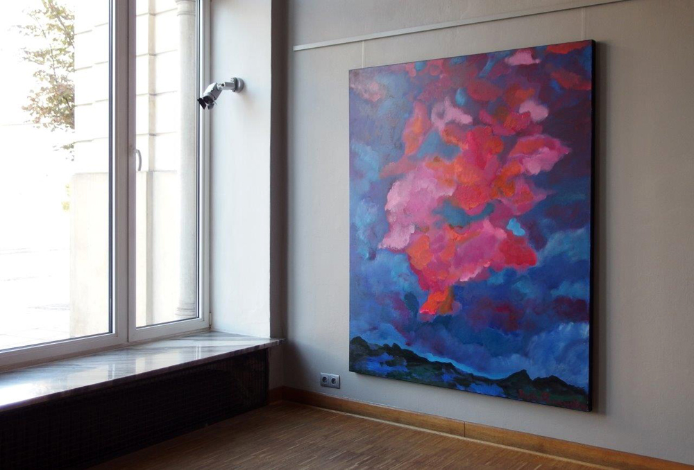 Beata Murawska : Pink cloud