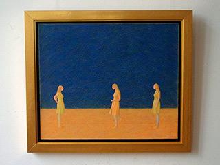 Mikołaj Kasprzyk : Play : Oil on Canvas