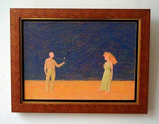 Mikołaj Kasprzyk : Rose : Oil on Canvas
